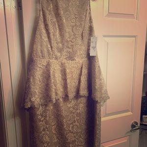 Brand new Teri Jon dress